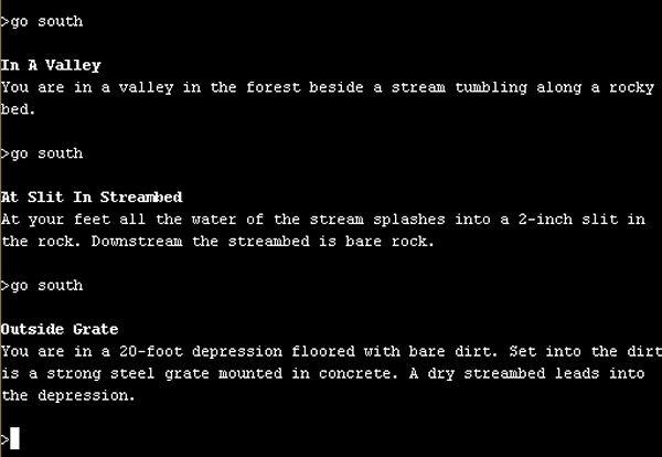 Colossal Cave Adventure<br><br>1976, in einer Zeit, in der Computer noch die Ausmaße eines Wohnzimmers hatten und Microsoft noch nicht viel mehr war als ein Projekt im Hobbykeller der Familie Gates, versuchte sich William Crowther an einem ehrgeizigen Projekt: Als passionierter Höhlenforscher wollte er eine möglichst genaue Beschreibung einer gigantischen Höhle (dem »Mammoth Cave« in Kentucky) an einem Computer realisieren, die man mittels einfacher Texteingaben erkunden konnte. Resultat: Das allererste Adventure, das sogar so präzise war, dass sich Kenner des »Spiels« in der echten Höhle ziemlich gut zurechtfanden. Ein Jahr später erweiterte Crowthers Kollege Don Woods das Programm erheblich: Als Tolkien-Fan integrierte er axtschwingende Zwerge, Elben, Trolle, Piraten, Schätze und Labyrinthe, implementierte aufsammelbare Objekte und ein Punktesystem, was aus dem Spiel schlussendlich das Maßstäbe setzende »Adventure« machte. XYZZY! 1718656