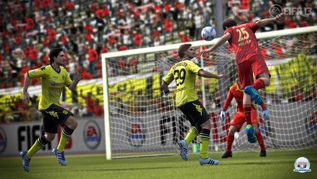 Dortmund gegen Bayern: Dieses Duell wird sicher nicht selten in FIFA 13 auf dem Programm stehen.