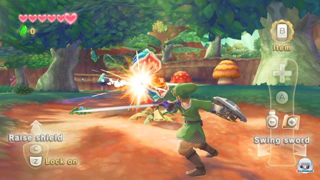 Screenshot - The Legend of Zelda: Skyward Sword (Wii) 2243393