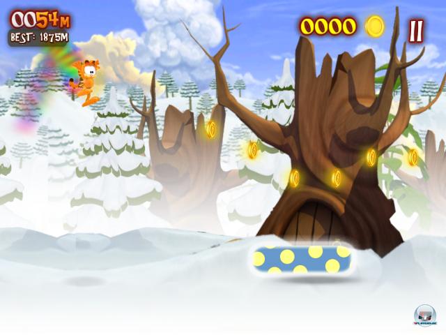 Screenshot - Garfield's Wild Ride (Android)
