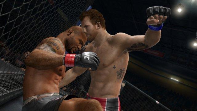 15. UFC-Serie (2009-2012) <br><br> Die UFC-Serie zählte zu den Aushängeschildern von THQ, die dank der zunehmenden Begeisterung für den MMA-Sport auch viel Geld in die Kasse gespült haben dürfte! Statt nur jährliche Update zu liefern, nahm sich das Team die Zeit, um die Mechanik immer weiter zu verfeinern und zu verbessern. Trotz des Erfolgs sah sich THQ vermutlich aufgrund der finanziellen Lage dazu gezwungen, die lukrative Lizenz an Electronic Arts zu verkaufen. 92443202