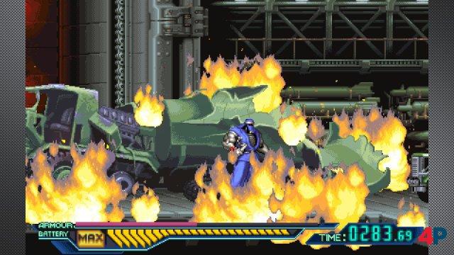 Screenshot - The Ninja Saviors: Return of the Warriors (Switch) 92603126
