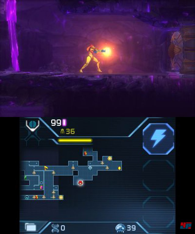 Screenshot - Metroid: Samus Returns (3DS)