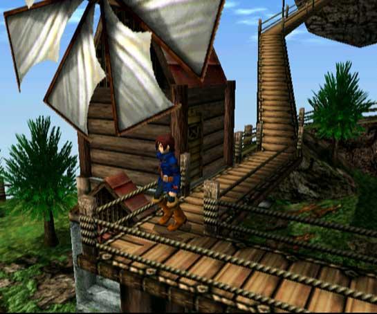 """Vyse, der Held von """"Skies of Arcadia"""""""