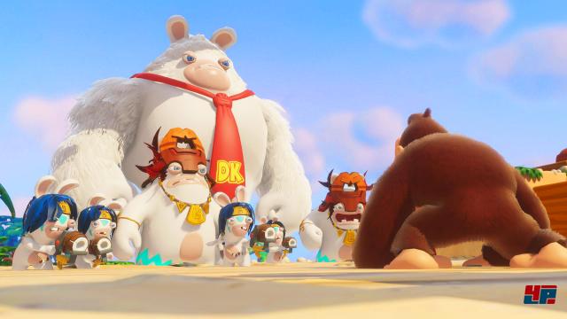 Screenshot - Mario   Rabbids Kingdom Battle - Donkey Kong Adventure (Switch) 92569349