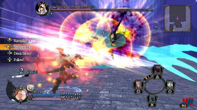 Screenshot - Nights of Azure (PlayStation3) 92521079