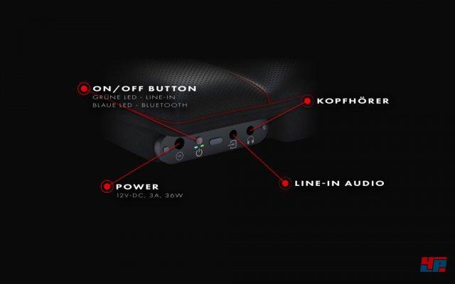 Neben Kabeln kann man auch eine Bluetooth-Verbindung nutzen.
