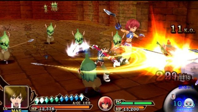 Screenshot - Tales of the Heroes: Twin Brave (PSP) 2315142