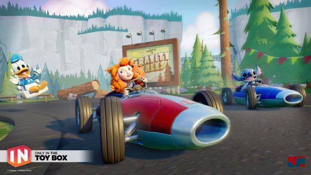 Der Toybox Speedway mit seinem an Mario Kart angelehnten Ansatz dürfte Disney Infinity ebenfalls gut zu Gesicht stehen.