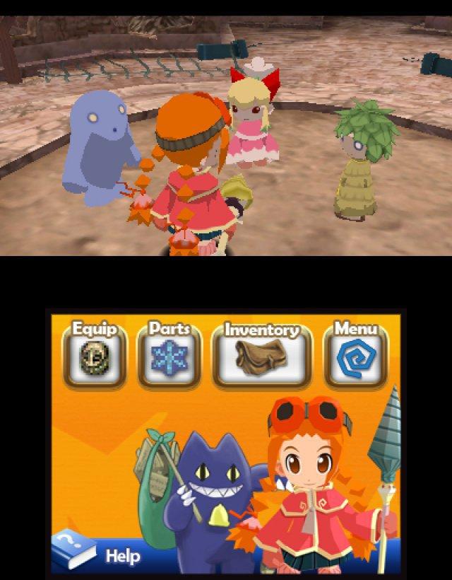 Screenshot - Gurumin: A Monstrous Adventure (3DS)