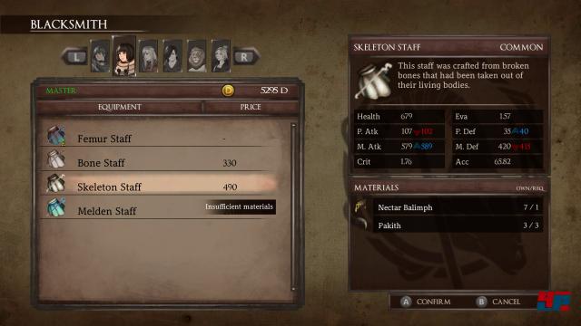 Screenshot - Legrand Legacy: Tale of the Fatebounds (Switch) 92581231
