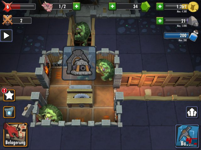 Screenshot - Dungeon Keeper (iPad) 92476583