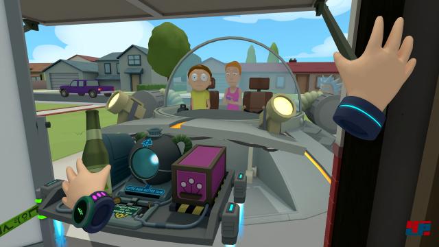 Screenshot - Rick and Morty: Virtual Rick-Ality (HTCVive)