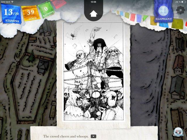 Screenshot - Sorcery! - Teil 2 (iPad) 92471923