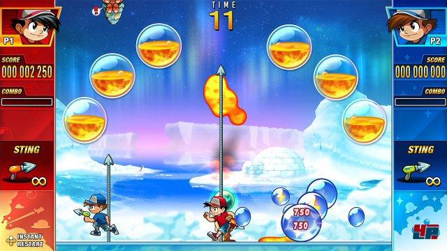 Screenshot - Pang Adventures (Switch)