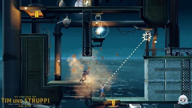 Screenshot - Tim und Struppi: Das Geheimnis der Einhorn (PlayStation3) 2252357