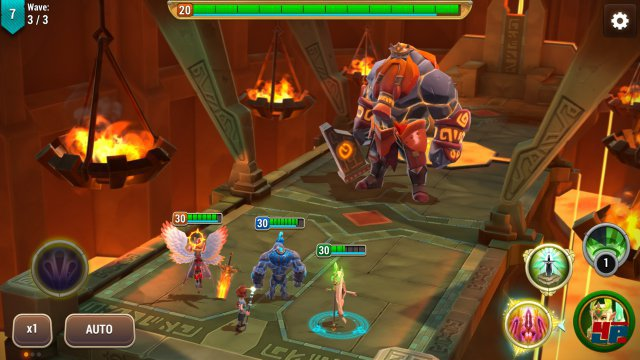 Screenshot - Might & Magic Elemental Guardians (Android)