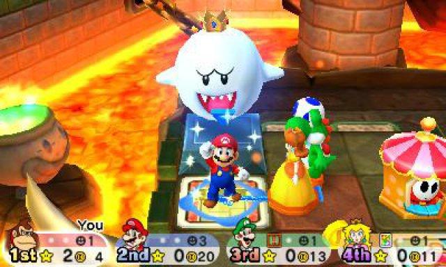 Typisch Nintendo: Marios Freunde albern bei jeder Gelegenheit herum oder geben schrille Laute von sich. Auch der Ohrwurm-Soundtrack ist angemessen aufgekratzt.