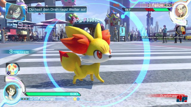Die als Duo auftretenden Unterstützungs-Pokemon bringen eine interessante Komponente in die Gefechte.