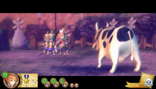 Screenshot - The King, Demon King, and the Seven Princesses: New King Story (PS_Vita) 2257707