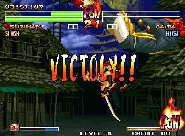 <b>Samurai Showdown 4</b><br><br> Zu Beginn ein klassisches Muss: Der L/R-Dreher. Gehört in jedes gute Game. 1776003