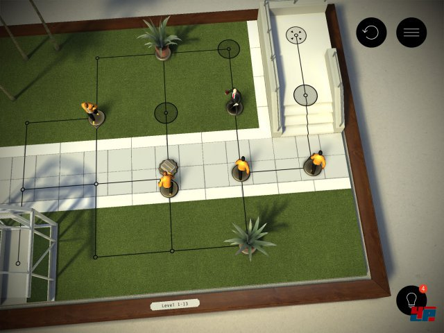 Screenshot - Hitman Go (iPad) 92481440