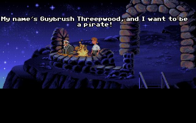 <b>The Secret of Monkey Island</b><br><br>Und weil die zwei Wochen nach der Wiedervereinigung ohnehin eine einzige Party waren, kann ich noch ein Spiel integrieren, das ein klitzekleines bisschen nach dem offiziellen Zeitrahmen erschien. Aber ich mag es so, und was sind schon zwei Wochen? 1861413