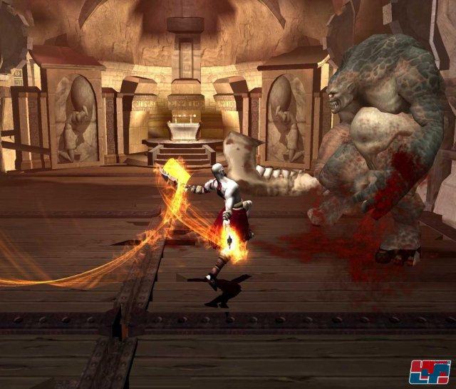 God of War setzte Maßstäbe auf der PS2 - durch Kulisse, Gewalt und Story.