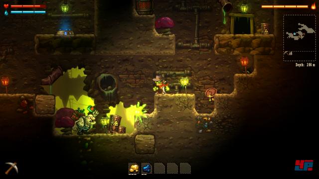 Screenshot - SteamWorld Dig (PlayStation4) 92477253