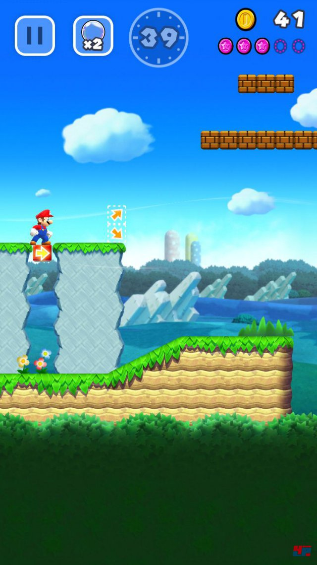 Screenshot - Super Mario Run (iPad) 92537684