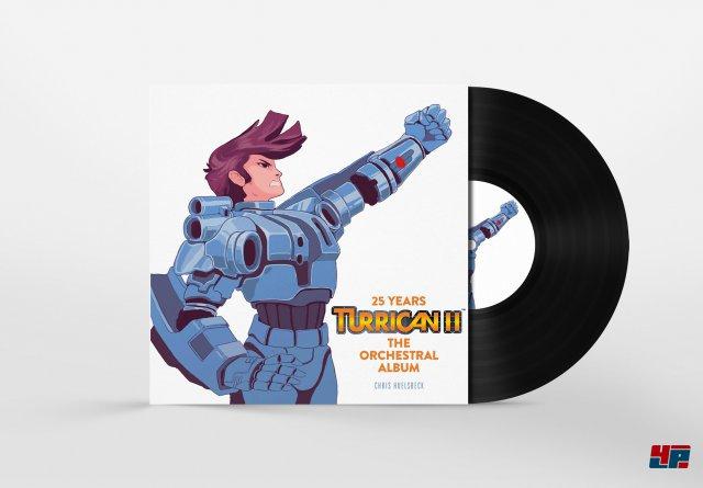 Den neuen Track, den Chris mit seiner Amiga-Software erstellen wird, bekommt man vorerst nur auf der Schallplatte zu hören.