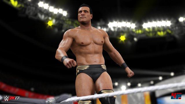Auch Alberto Del Rio wurde gut getroffen - auch wenn er mittlerweile nicht mehr bei WWE unter Vertrag steht.