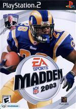 Alle Infos zu Madden NFL 2003 (PlayStation2)