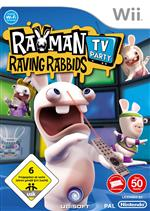 Alle Infos zu Rayman: Raving Rabbids - TV Party (Wii)
