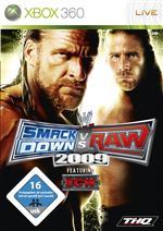 Alle Infos zu WWE SmackDown vs. Raw 2009 (360,PlayStation3)