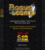 Alle Infos zu Rogue Legacy (PC)