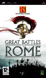 Alle Infos zu Great Battles of Rome (PSP)