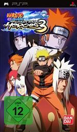 Alle Infos zu Naruto Shippuden: Ultimate Ninja Heroes 3 (PSP)