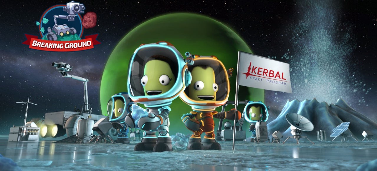 Kerbal Space Program: Breaking Ground (Simulation) von