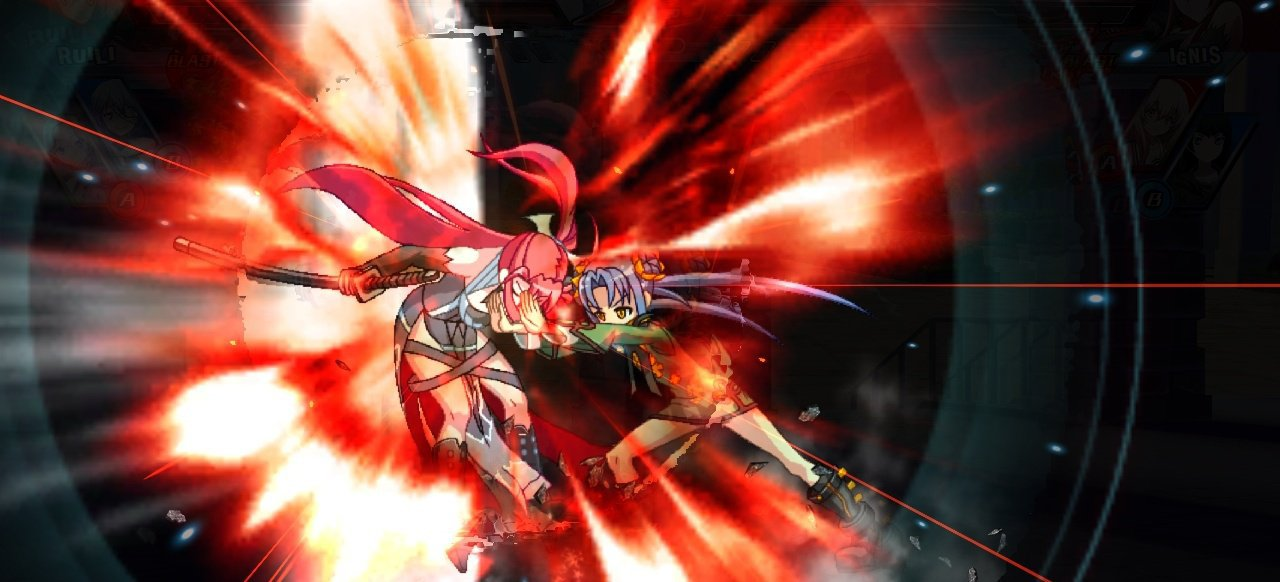Nitroplus Blasterz: Heroines Infinite Duel (Prügeln & Kämpfen) von XSEED Games