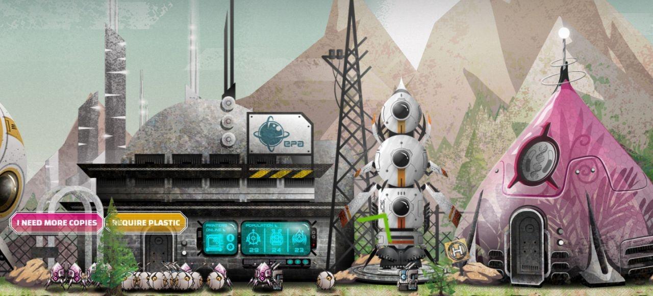 Terraforming Earth (Plattformer) von Lost Robots