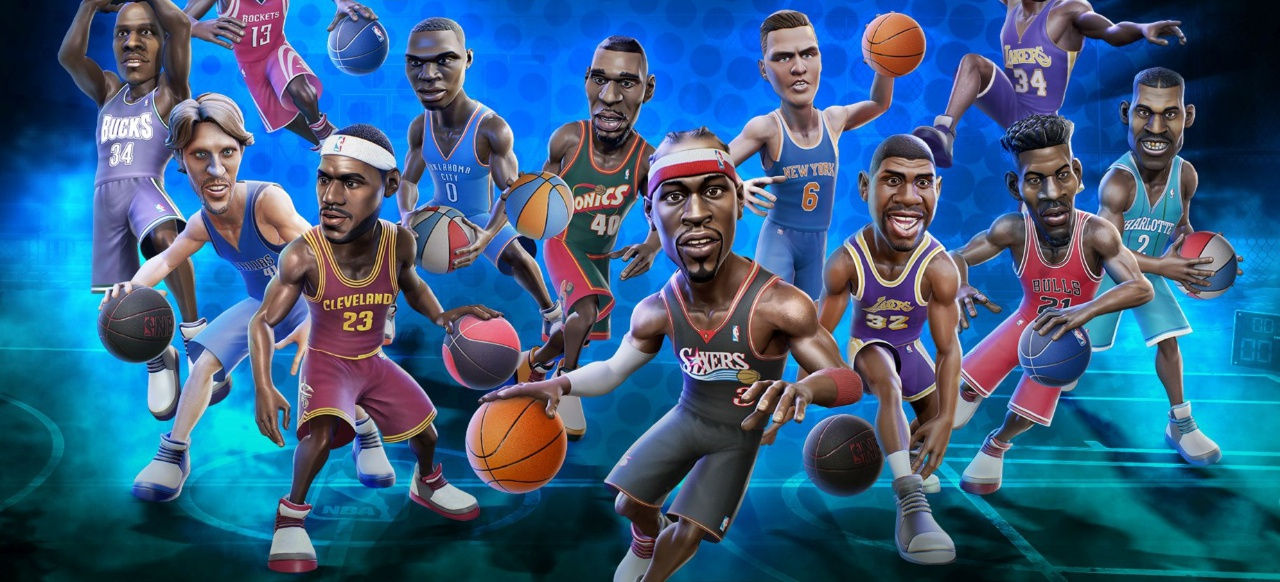 NBA Playgrounds (Sport) von