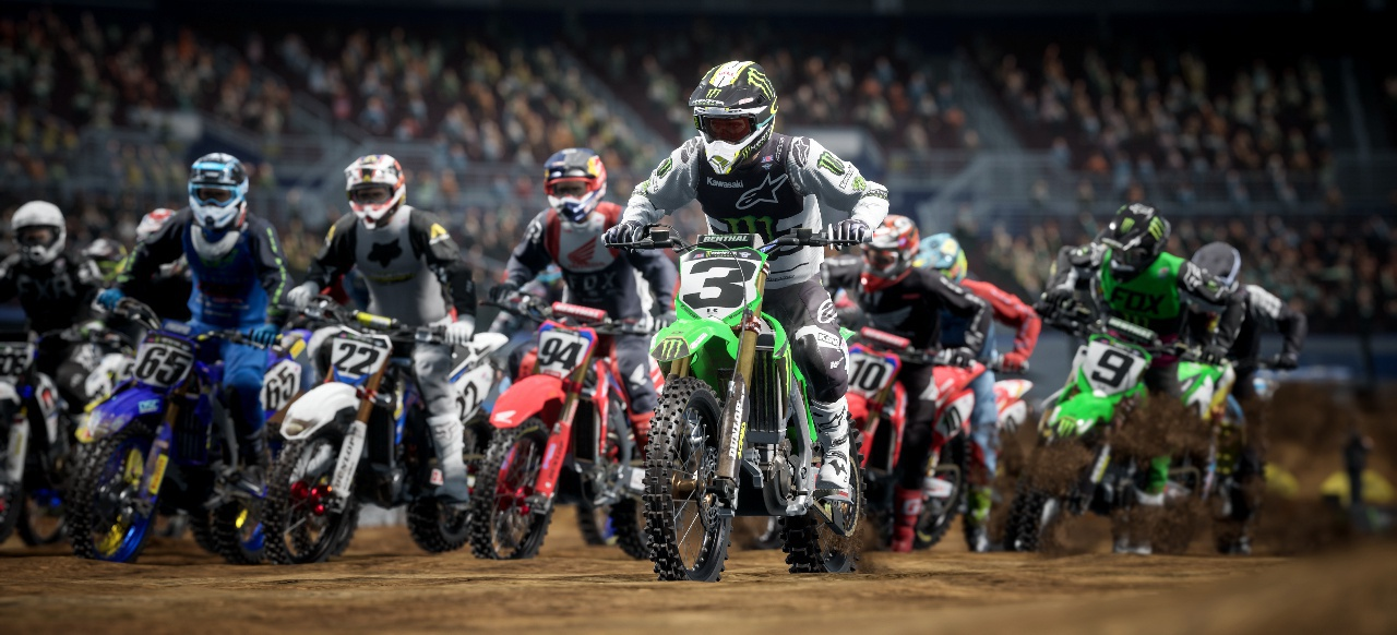 Monster Energy Supercross - The Official Videogame 4 (Rennspiel) von Milestone/Feld Entertainment