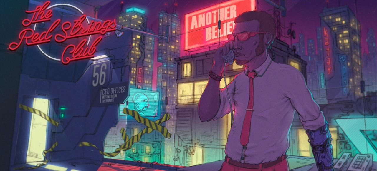 The Red Strings Club (Adventure) von Devolver Digital
