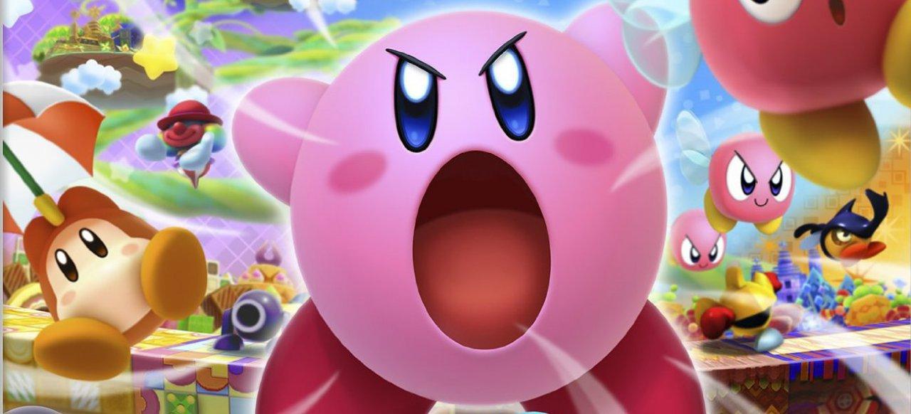 Kirby Triple Deluxe (Plattformer) von Nintendo