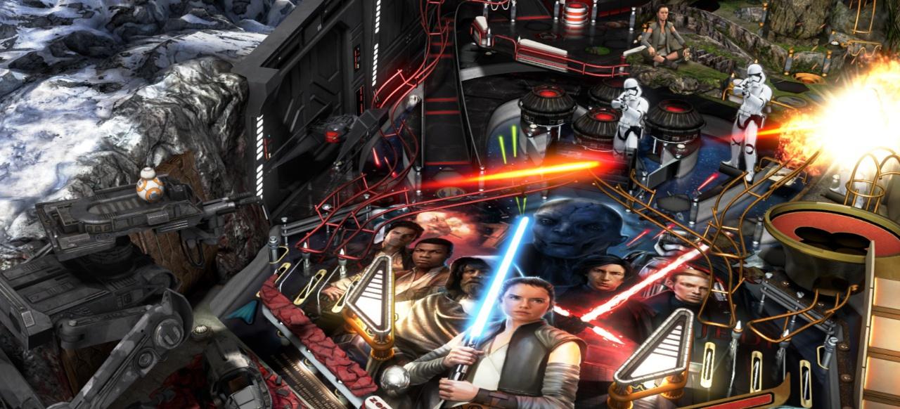 Star Wars Pinball: The Last Jedi (Geschicklichkeit) von Zen Studios
