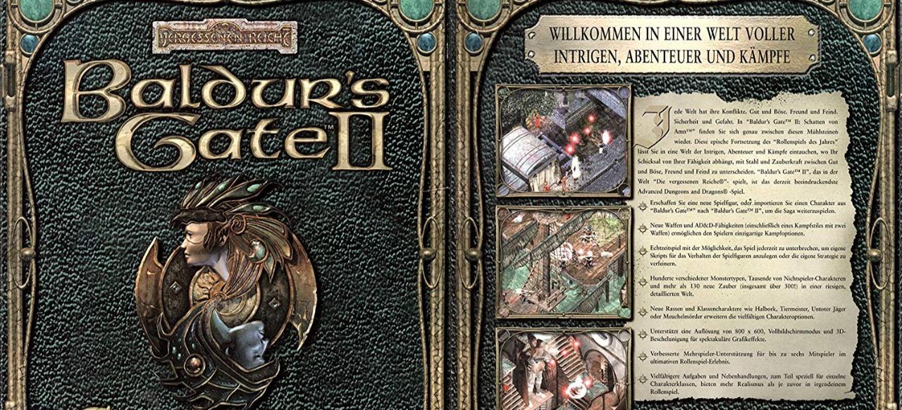 Baldur's Gate 2 (engl.) (Rollenspiel) von Virgin Interactive