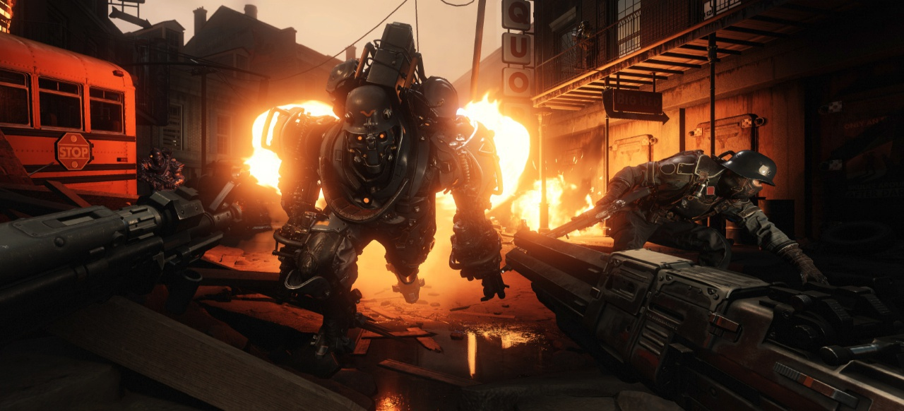 Wolfenstein 2: The New Colossus (Shooter) von Bethesda Softworks