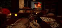 The Spy Who Shrunk Me: VR-Agentin mit Schrumpfstrahl und Bananenschale