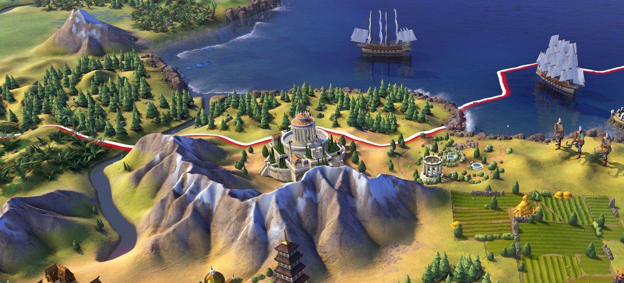 Civilization 6: Erweiterungen Rise and Fall und Gathering Storm für